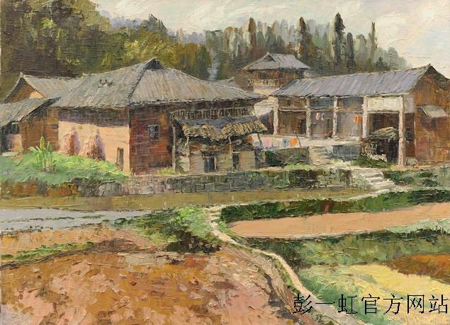 11遥远的风景-涪陵大顺之七 (油画)90×65cm