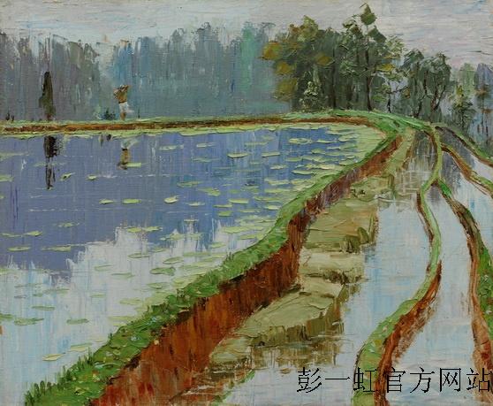 19遥远的风景-涪陵惠民之一 (油画)60×50